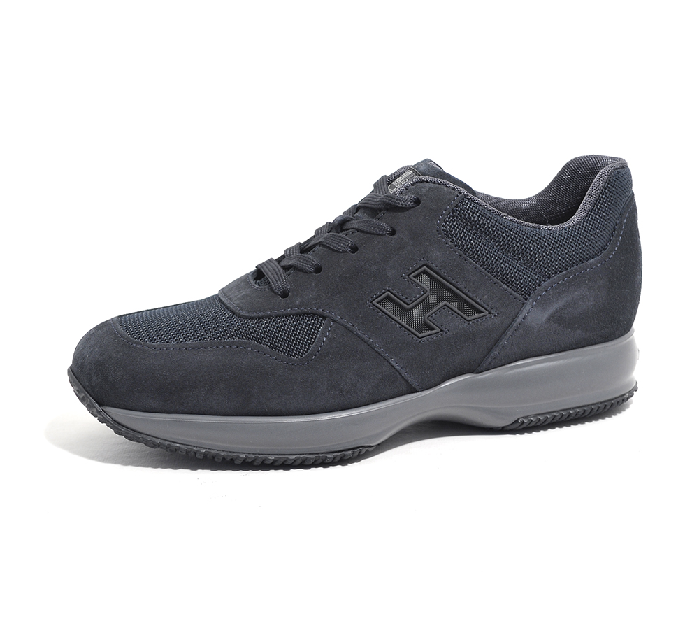 scarpe uomo hogan uomo HXM00N0Y720HJK0501 INTERACTIVE BLU ... 08bc5af8c35